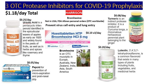 OTC Protease Inhibitors for COVID-19 Prophylaxis